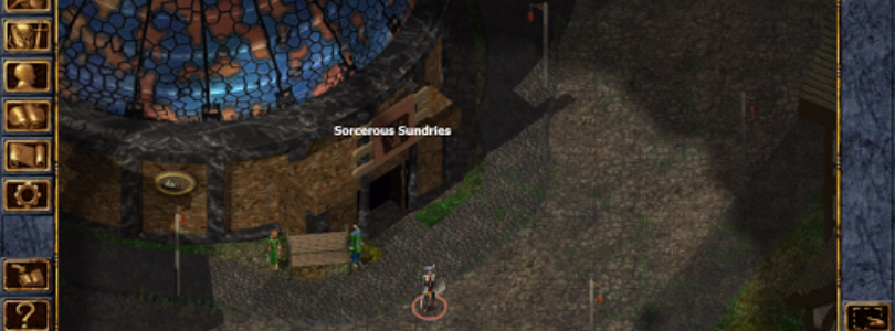 Baldur's Gate Gameplay
