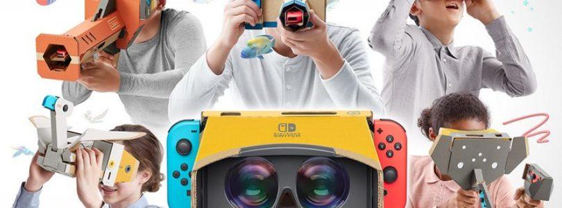 Le lancement du kit VR de Nintendo Labo pour Nintendo Switch