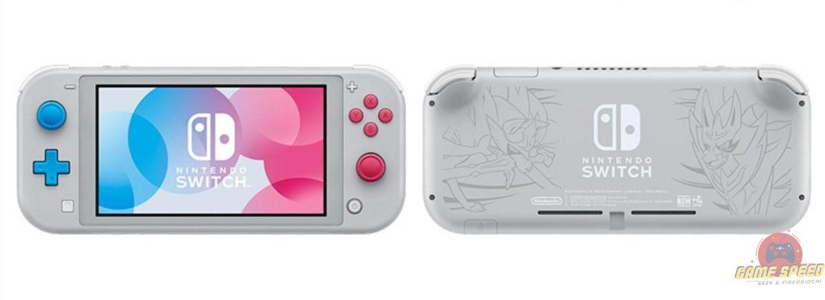 La speciale edizione per Pokémon Spada e Scudo di Nintendo Switch Lite