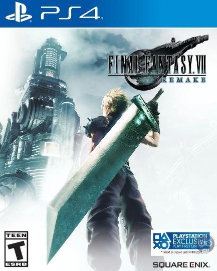 Cover Final Fantasy 7 Remake