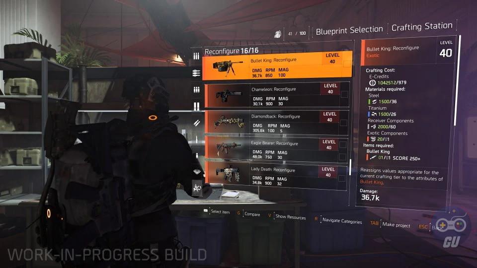 The Division 2 si aggiorna e introduce la riconfigurazione degli oggetti speciali