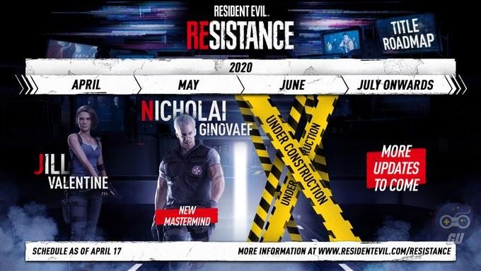 Jill Valentine disponibile in Resident Evil Resistance