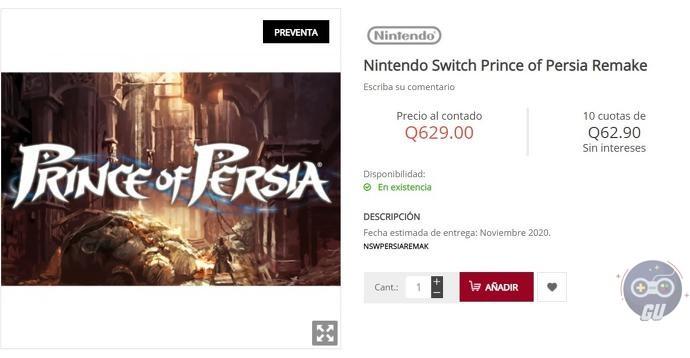 Un annuncio in arrivo per Prince of Persia?